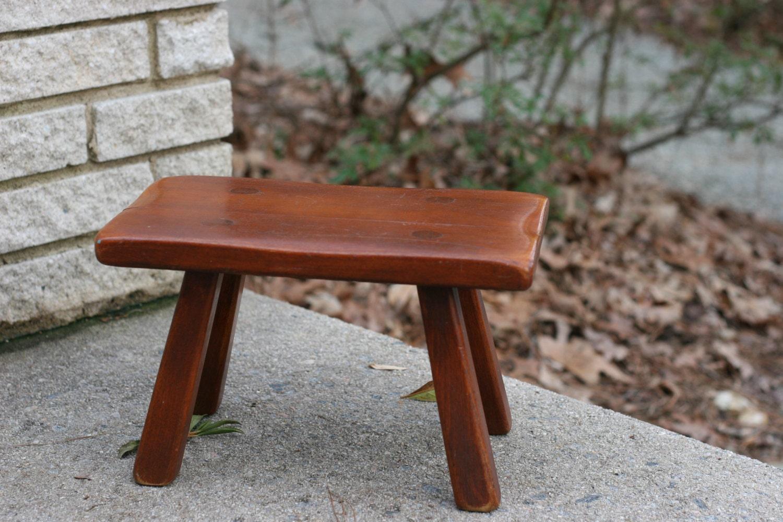 Vintage Cushman Colonial Creation Footstool 9038 Primitive