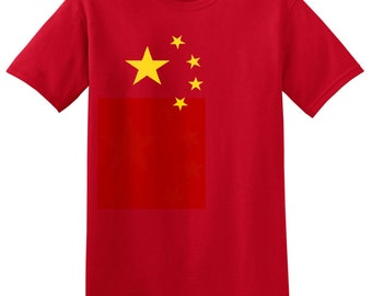 Children's CHINA T Shirt Kids Boys or Girls Chinese Tee