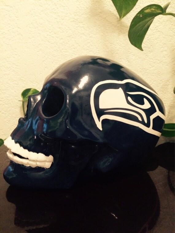 Seattle seahaks skull