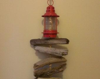 Driftwood Lantern Mobile