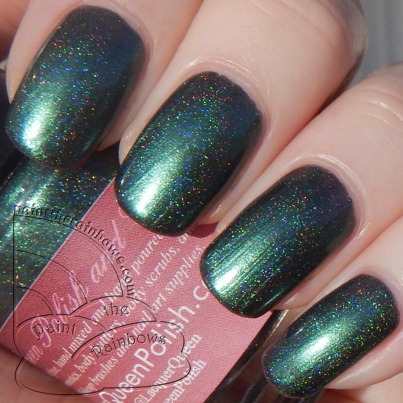 Mistletoe Jade Green Nail Polish Holographic by ...