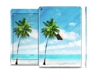 The Paradise Beach Palm Tree Skin Set for the Apple iPad (All Models Available)