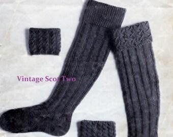 Knitting Pattern For Scottish Kilt Socks : Men in kilts Etsy
