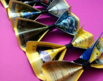 Electric and Metal Type Pokemon Card Hair Bow