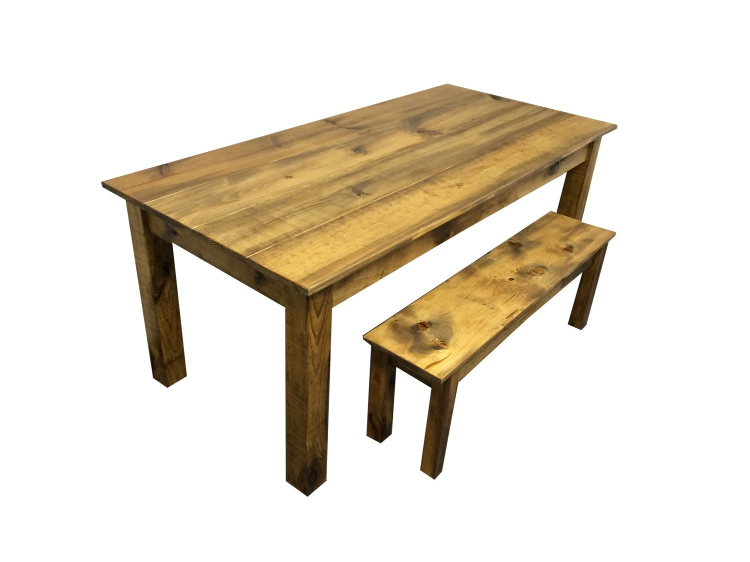 rustic barn wood farmhouse table harvest table reclaimed