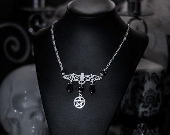Night Wings Vampire Necklace