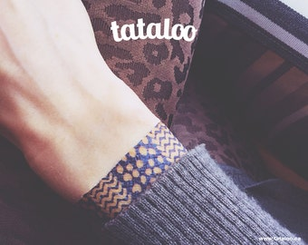 Temporary Tattoo Graphic Bracelets