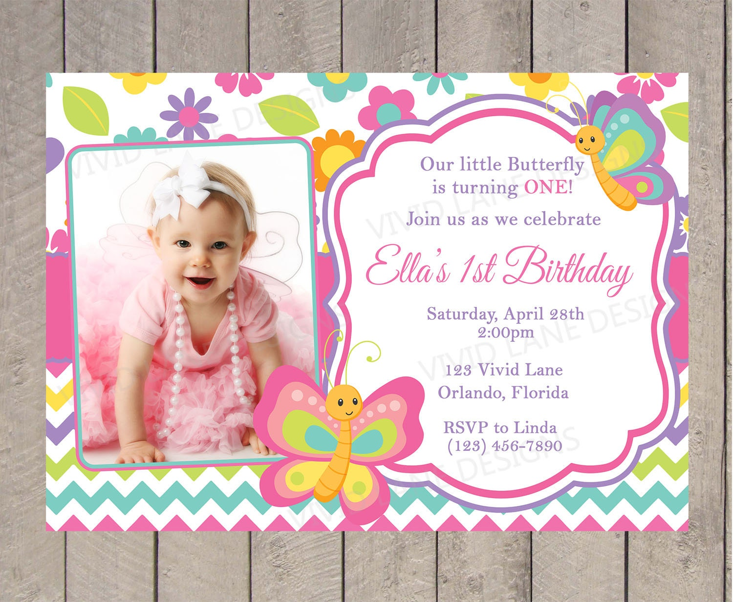 Luxury Butterfly Birthday Invites Sketch - Invitation Card Ideas ...