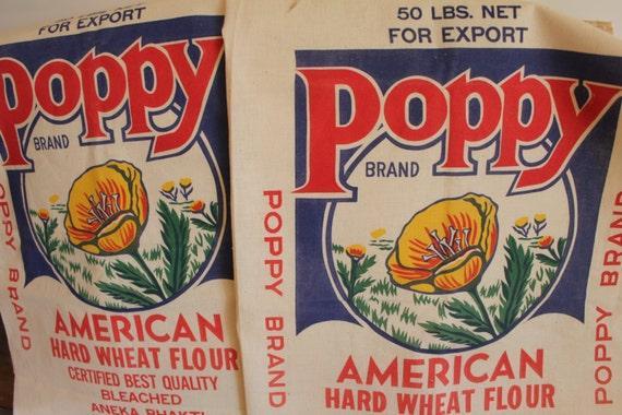 Pillsbury Company American Hard Wheat Flour Bag By