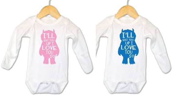 Twins Gifts, Boy/Girl Clothing for twins, Twin Outfit, Twin Clothing, Boy/Girl Twins