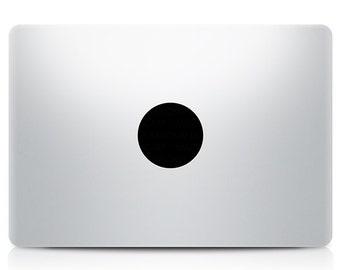 Plain Circle Macbook Decal Laptop Sticker Macbook Pro Air Vinyl Decal Macbook Sticker Macnip azs