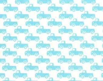 Boy Tiny Trucks, It's a Boy Thing, from Michael Miller Fabrics
