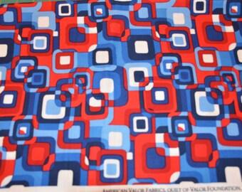 American Valour fabric 1/2 yard or yardage destash sale closeout