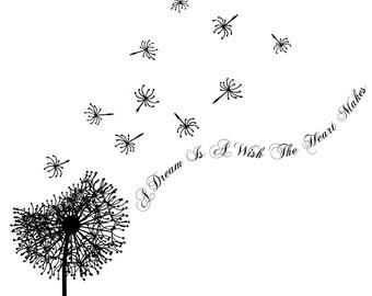 Blowing dandelion clip art - photo#26