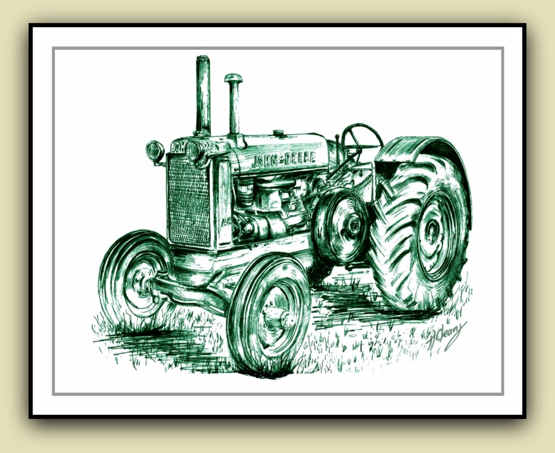 John Deere Tractors Drawing | www.pixshark.com - Images ...