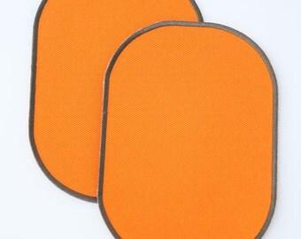 Uni-colour set of knee patches