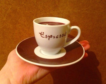 Espresso cup coffee scented candles