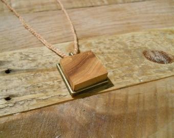 American Elm Pendant Necklace - NBS005