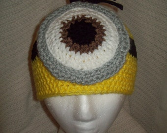 Dispicable me Inspired Minion Beanie