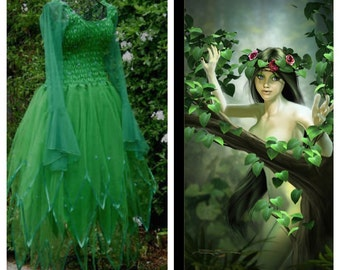 Woman's Fairy Costume  ~ Plus  Size ~ Absinthe Halloween Dress ~ Theatre ~ Masquerade ~
