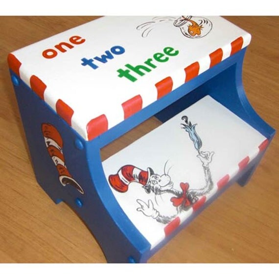 Dr Seuss Cat In The Hat Inspired By Prettycustomgifts On Etsy