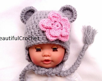 Hello everybody this beautiful baby bear is new. you can order it in all sizes and in your favourite colour.