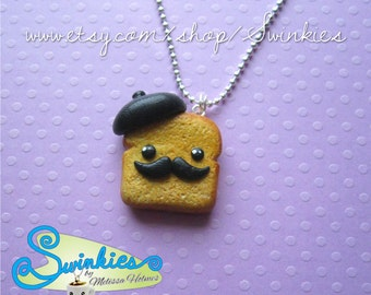 French Toast Necklace