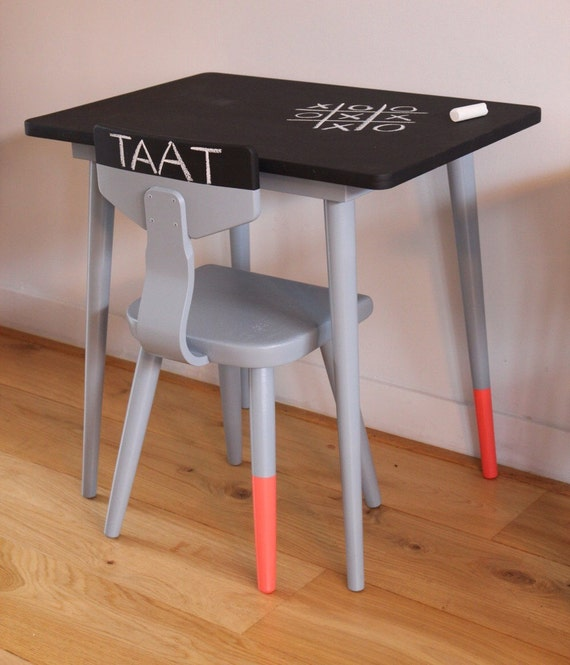 CHILDRENS CHAIRS and TABLES Vintage school chairs and – Vintage Kids Table and Chairs