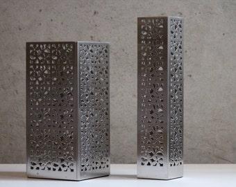 Laser Cut Flower VASE - Stainless Steel