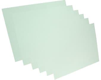 "3M 8000 Grit Wet or Dry Polishing Paper Pale - Pkg of 6 (8.5"" x 11"")  (EM2705)"