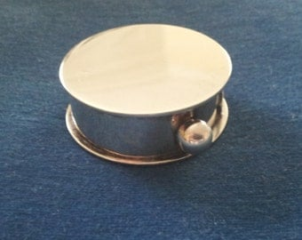 Vintage Sterling Leonore Doskow Pill Box