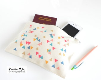 Zipper pouch - wallet