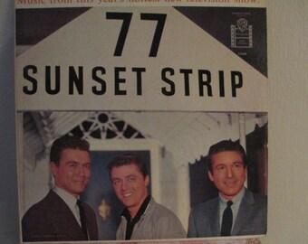 77 Sunset Strip Album  1959