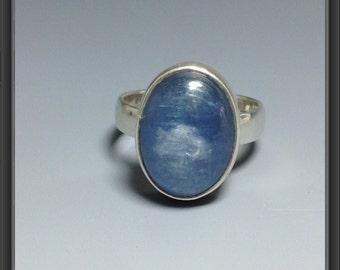 Kyanite ring US size 7.75