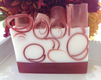 Cranberry Chutney Soap - handcrafted glycerin soap