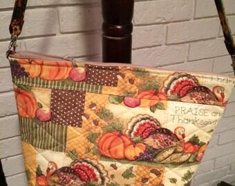 Thanksgiving Single strap purse
