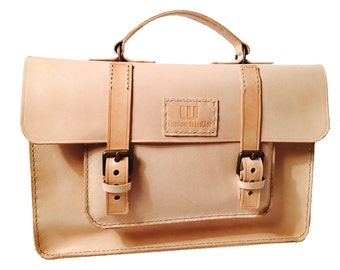Briefcase Leather Briefcase Leather Satchel Satchel Messenger Bag Leather Bag Leather Handbag Handmade Leather Satchel