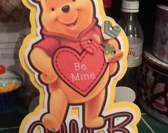 Winnie the Pooh Valentines Card
