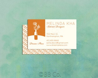 Pre Designed  Business Card: Decorator, Interior Designer