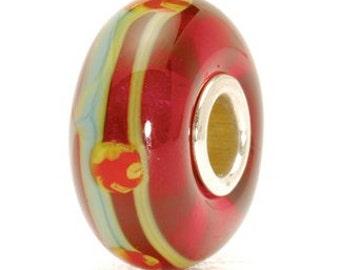 Red China Bead, Troll Beads, Retired