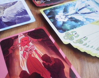 76 Artists in one Project: Artbook + illustrated deck of cards