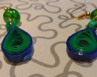 Quilling Earring drops