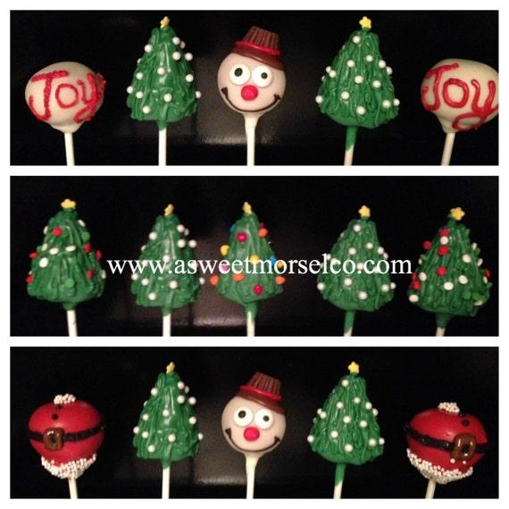 Christmas Cake Pops (shipping)