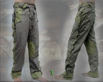 Naga Pants ~ post apocalyptic neo tribal dragon reptile style