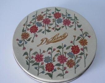 Vintage Deluxe Fruit Cake Tin