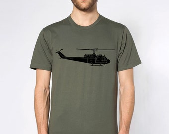 KillerBeeMoto: Huey Helicopter Bell UH-1 Iroquois Short & Long Sleeve Shirts