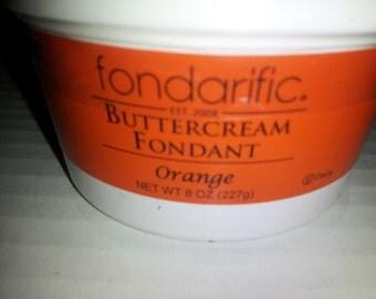 fondarific orange 8 oz