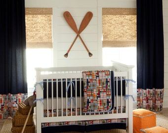 Boy Baby Crib Bedding: Coastal 2-Piece Crib Bedding Set by Carousel Designs