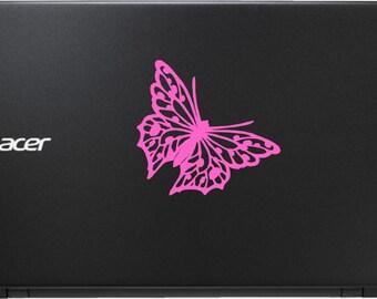"4"" Butterfly Vinyl Decal Sticker"