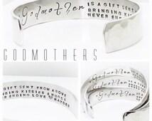 Godmother Gift   Womens Gift   Christening Gift   Baptism Gift   Godmother Quotes   Gifts for Godmothers by Glam&Co